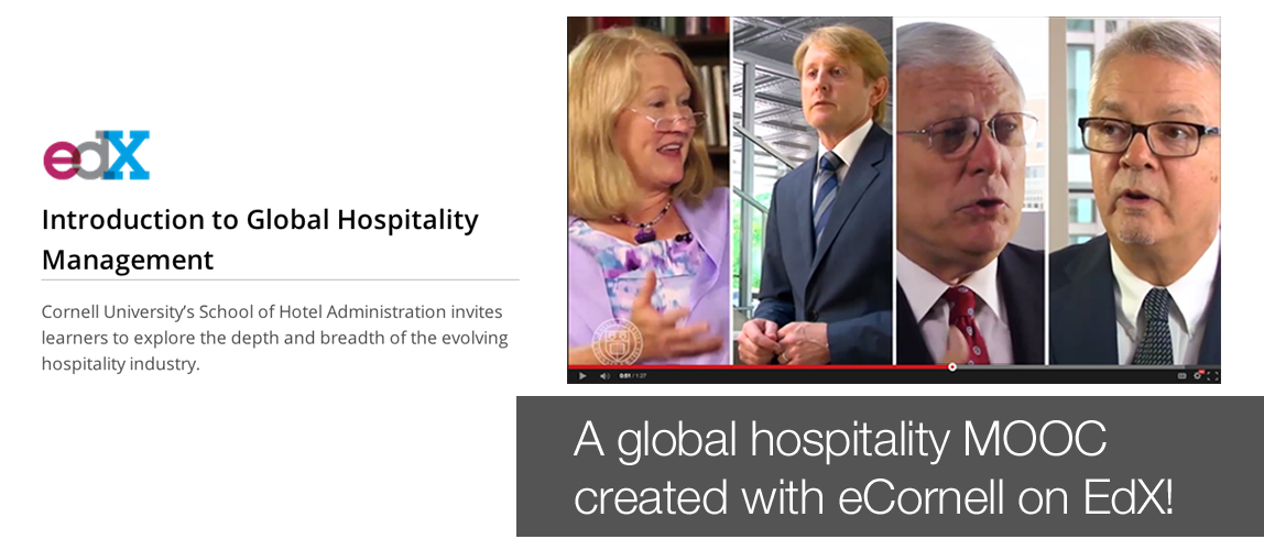Global Hospitality Management MOOC on EdX