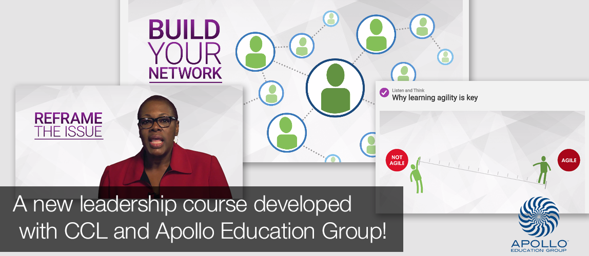 Leadership Course for Apollo Education Group and CCL
