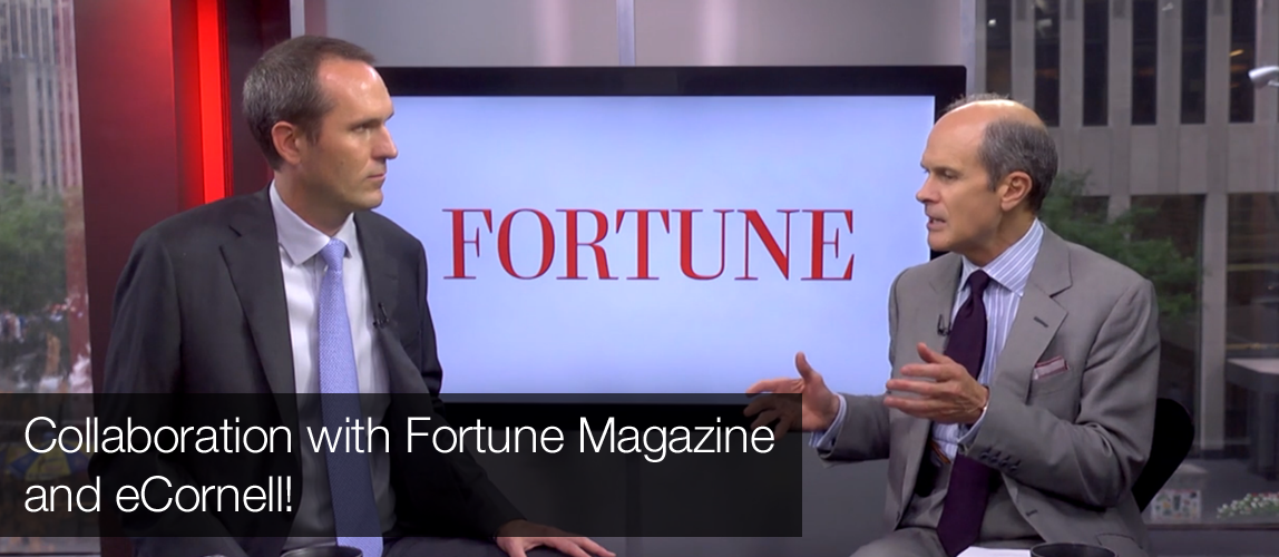 Fortune Magazine Content for our eCornell Business Strategy Series